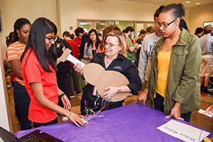 Students participate in NanoDays.