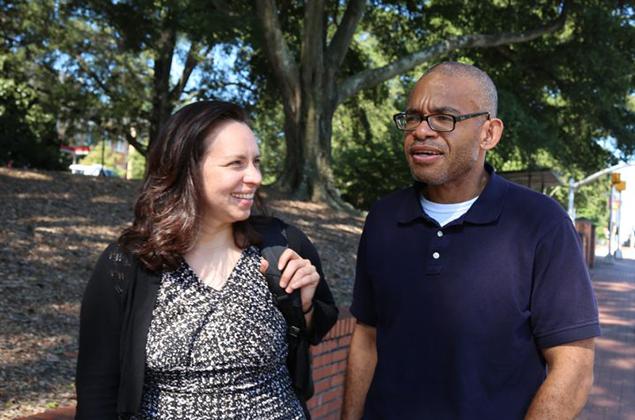Dr. Kathleen Vogel and Dr. Joel Ducoste