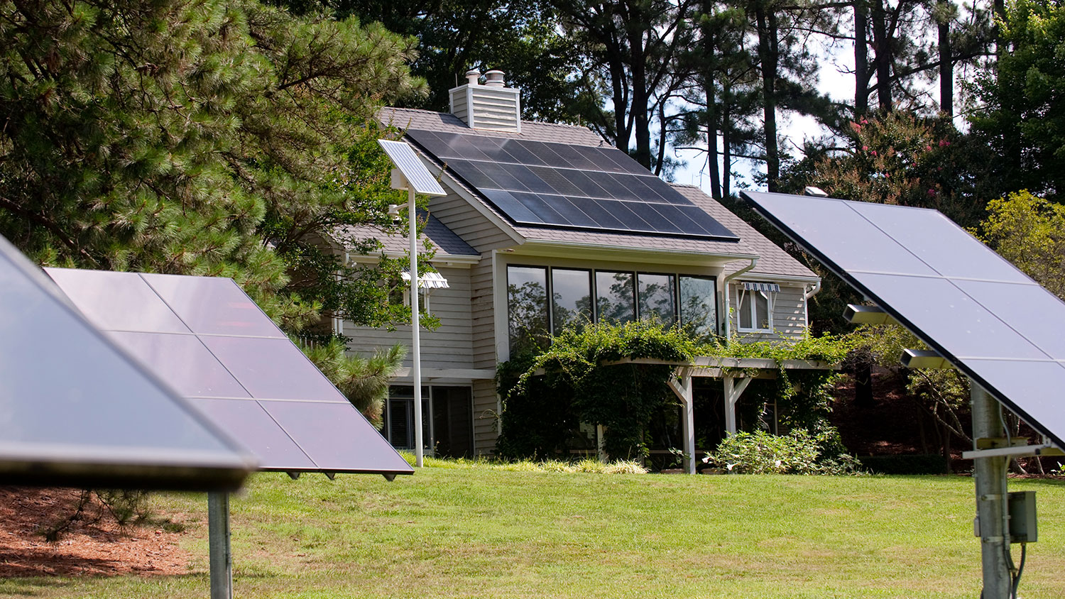 The NC State Solar House
