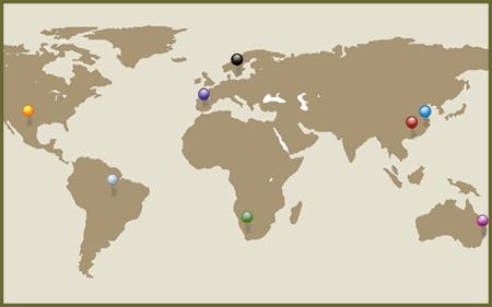 international programs map