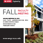 Fall 2016 Faculty Meeting Flyer