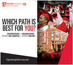 Fall 2012 Engineering Online Alumni Association Magazine Ad