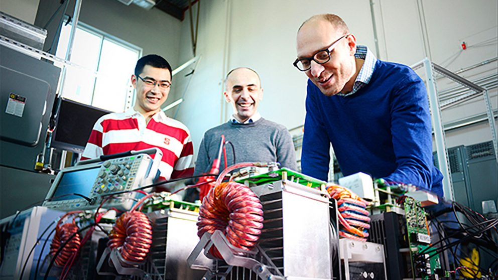 Dr. Srdjan Lukic and fellow researchers