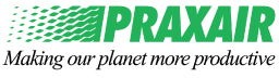 Logo: Praxair, Making our planet more productive