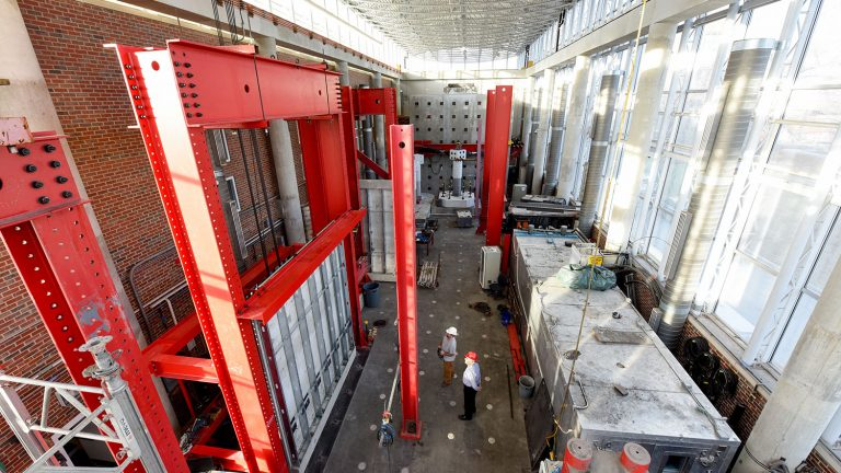 Inside the Constructed Facilities Laboratory (CFL)