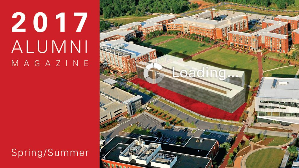 Cover image of the Spring/Summer NC State Engineering Magazine