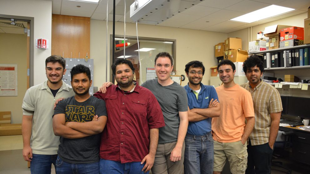 Appetite for Ice team members, pictured left to right: Arthur Candido, Aman Patel, Saurabh Agrawal, Kevin Ley, Punnag Chatterjee, Danny Tyler and Raj Nikhil Gerard.
