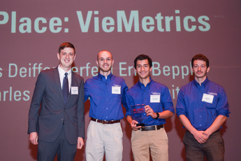 VieMetrics | James Dieffenderfer (UNC/NC State Joint Department of Biomedical Engineering [BME]), Eric Beppler (Department of Electrical and Computer Engineering [ECE]), and Charles Hood (ECE)
