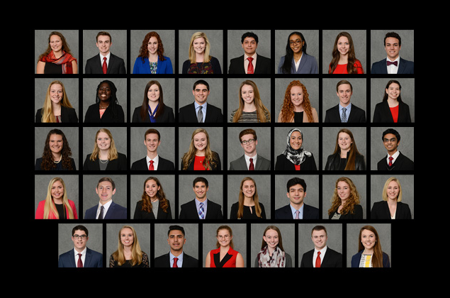 Images of Park Scholars, class of 2021