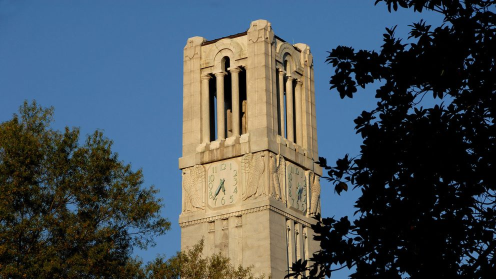 NC State Engineering Belltower