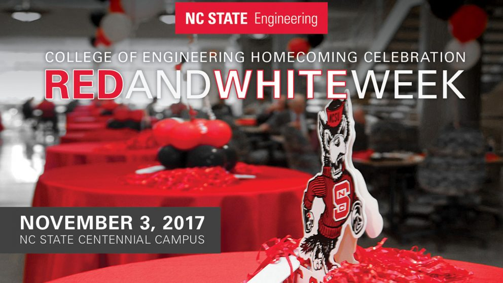 Red and White Week, November 3, 2017, NC State Centennial Campus
