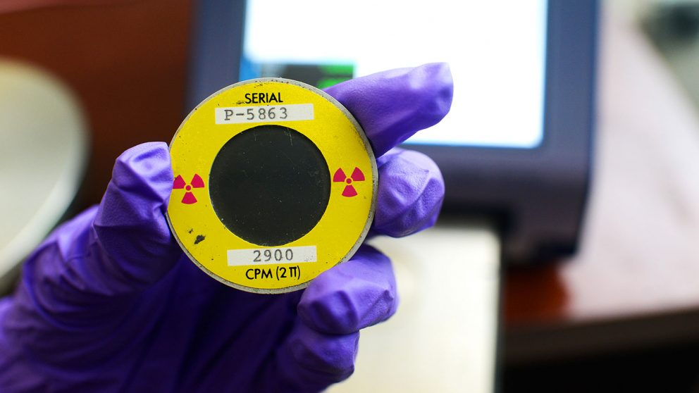 Tool can see nuclear material that is no longer there