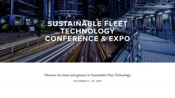 Sustainable Fleet Technology Conference and Expo; Discover the latest and greatest in Sustainable Fleet Technology; OCTOBER 11 - 13, 2017
