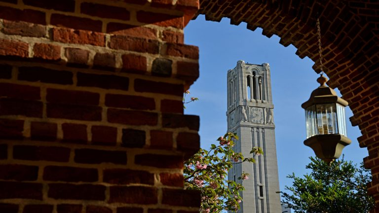 Bell Tower in the spring