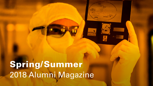 NC State Engineering Magazine, Online Cover, Spring/Summer 2018