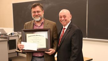 Dr. Jason Haugh and Dr. Louis Martin-Vega