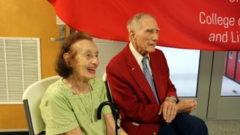 Dr. Charles W. Suggs and his wife, Jane