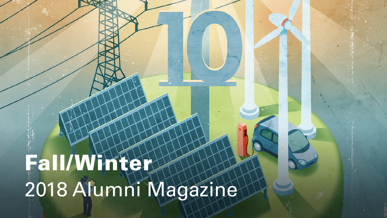 Online cover of Fall/Winter 2018 NC State Engineering magazine