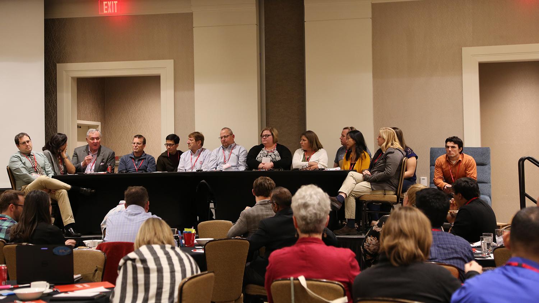 RET Conference participants