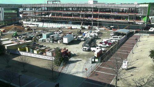 Camera shot of FWH construction