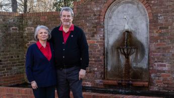 David and Judi Wilkinson honor their longtime ties to Arts NC State with the creation of the Pearsall-Wilkinson Scholarship Endowment