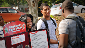 NC State NSBE students