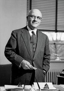 Image of Dean J. Harold Lampe