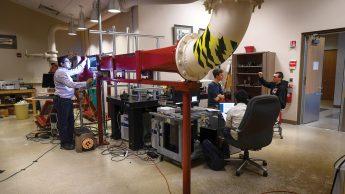 Wind tunnel lab