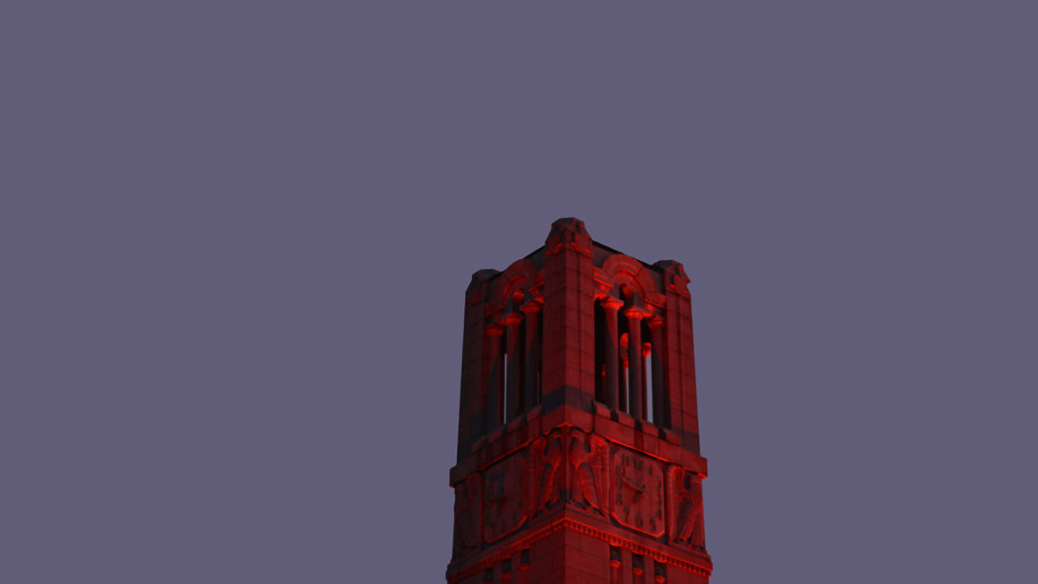 Bell tower at dawn.