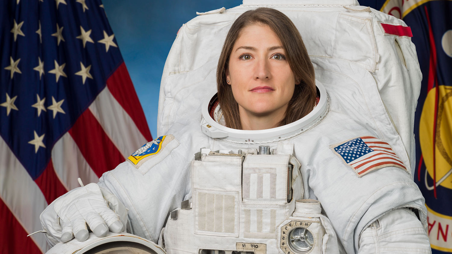 Astronaut and alumna Christina Koch