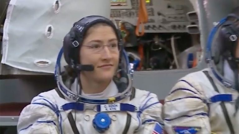 NC State alumna and astronaut Christina Koch