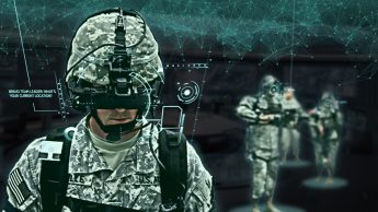 graphic illustrates how ai may help soldiers share information during training