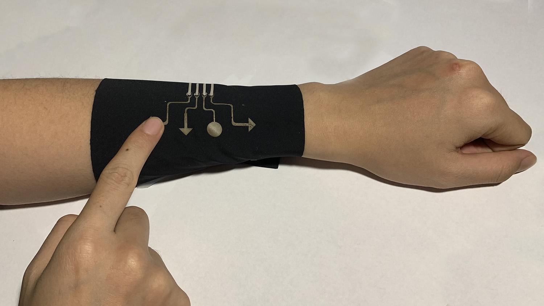 breathable touch sensor