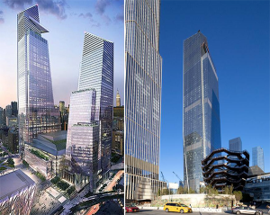 FOUR SIGNATURE TOWERS BUILT OVER A LIVE RAIL YARD IN MIDTOWN MANHATTAN