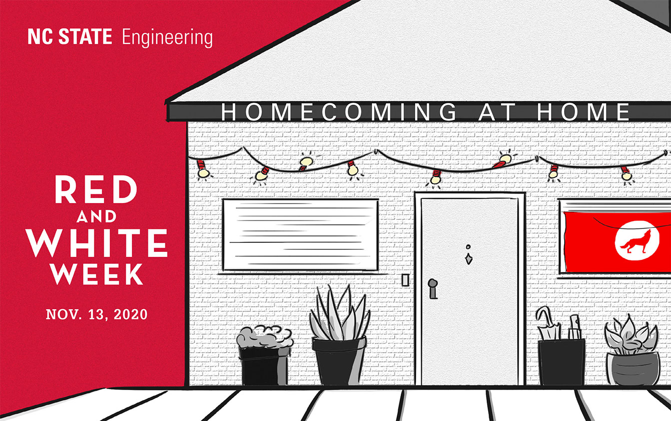 Homecoming at Home, Red and White Week, 11/3/20