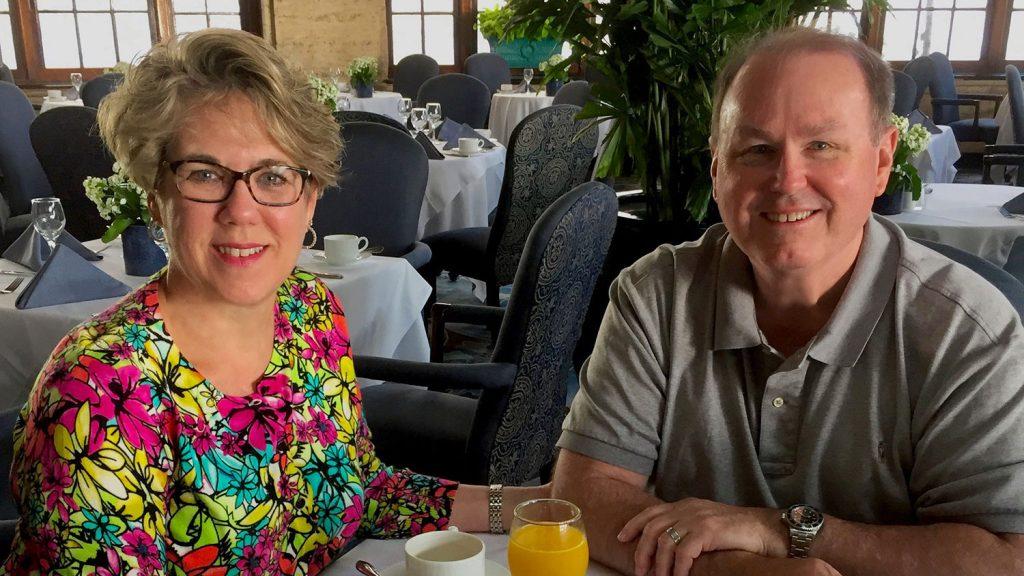 Cathy (ED '79) and Ron (CE '78) Hairr
