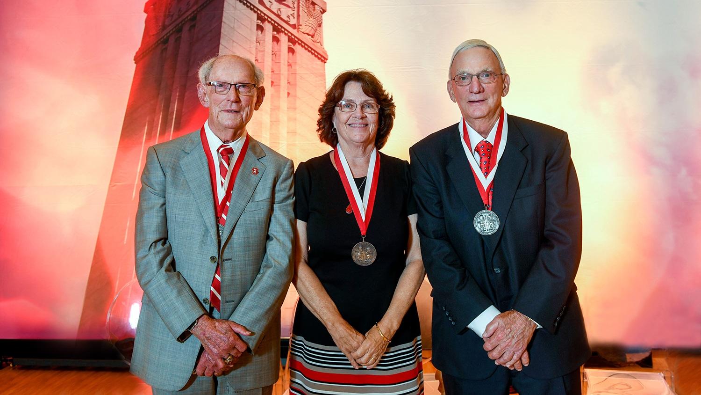 Bob Mattocks (left), Suzzanne Gordon (center) and Glenn Futrell (right)